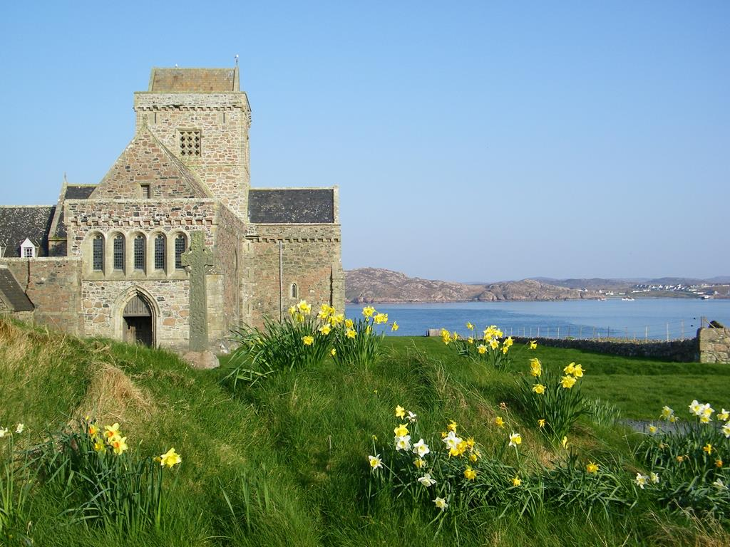 Iona Abbey,Isle of Iona