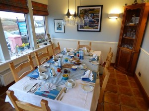 Seaview,accommodation,Diningroom