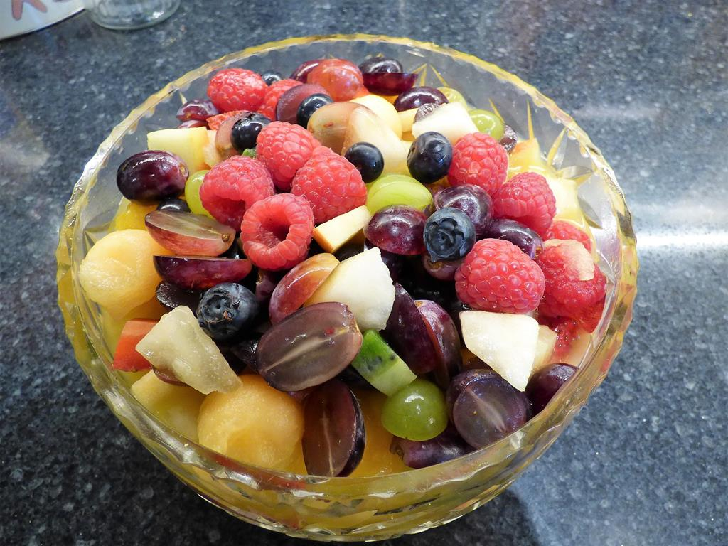Fruit Salad,food,Seaview bed and breakfast