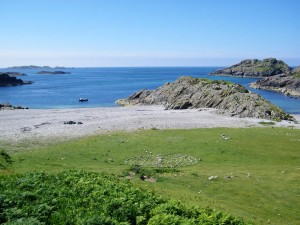 Beaches, Iona, Columba's Bay