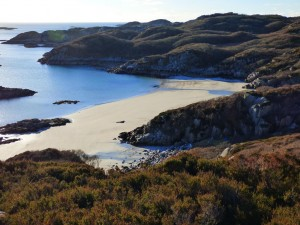 Beaches, Mull, Port na Ron