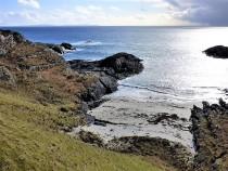 Mull, walks, beach of the fort