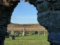 Mull, walks, Kilvickeon 12 century church