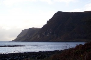 Walks on Mull, Carsaig Cliffs, Isle of Mull