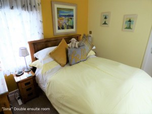 bed snd breakfast,Iona ensuite double